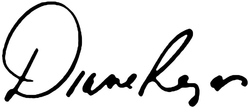 Diane Regas signature
